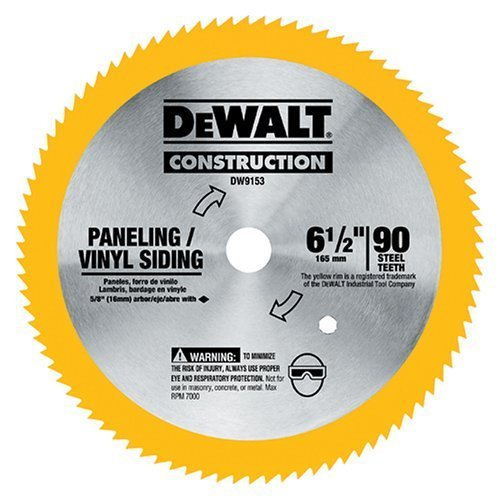DW9153 DeWalt  6-1/2-Inch 90 Tooth Saw Blade