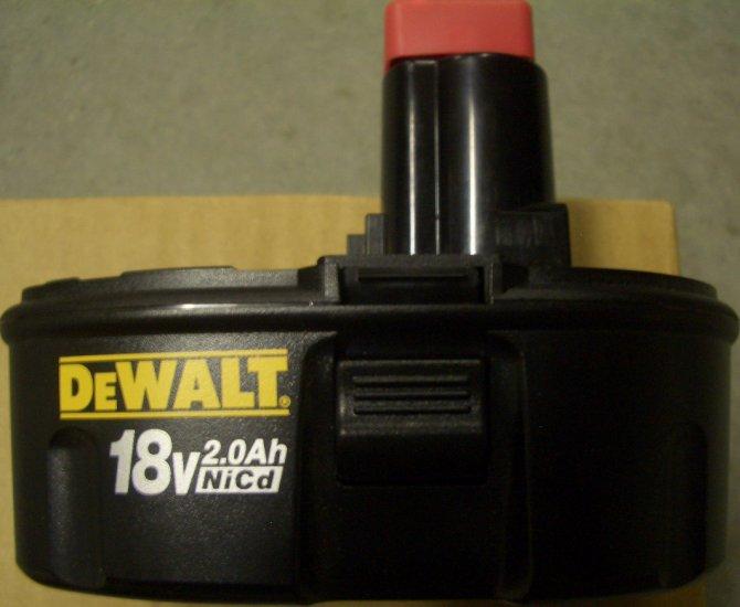 DE9095 Dewalt 18 volt XR Battery