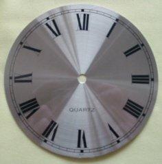 "3-3/8"" Alum/Brass Spun Roman Clock Dial"
