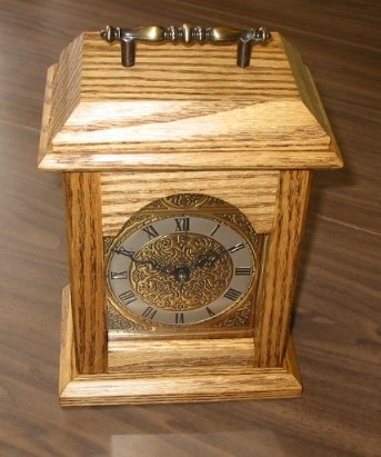 English Tempus Fugit Carriage Clock