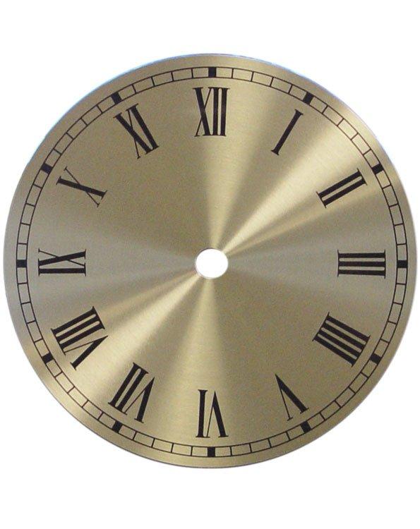 """(7) 6"""" Alum/Brass Spun Roman Dials"""