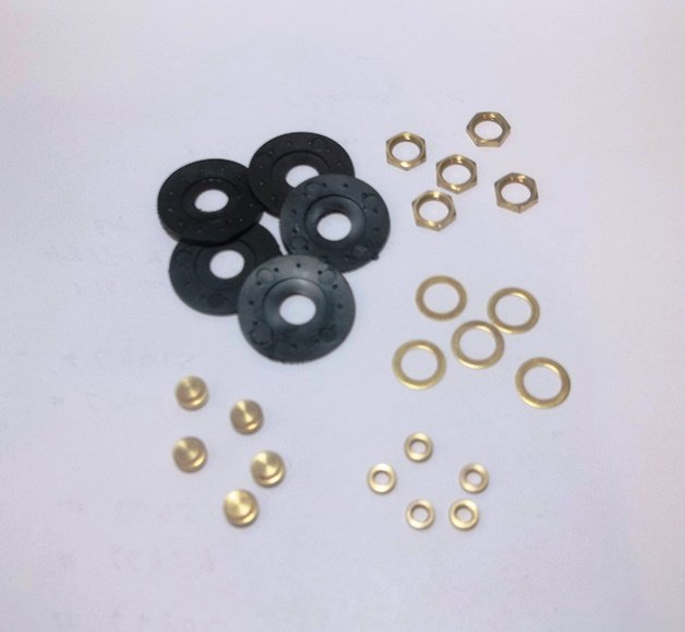 Clock Mounting Hardware Pack (100 of ea.)