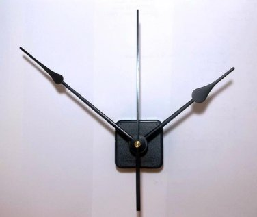 "(5) Continuous Motion Quartz Clock Movements w/7"" Spaded  Hands and 6"" Sweeps  #33"