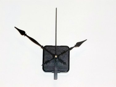 Continuous Motion Clock Motor-Choice of Shaft/Hands w/Metal Clock Hanger