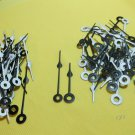 25 Pairs New Black/White Spade Clock Hands (#23)  For Scrapbooking, Steampunk, Embellishment