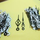 50 Pairs New Serpentine Black Clock Hands (No41)For Scrapbooking, Steampunk, Embellishment