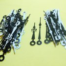 25 Pairs New Black/White Fancy Sword Clock Hands (No24))For Scrapbooking, Steampunk, Embellishment