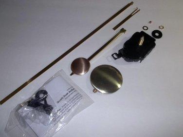 New Dual Action/Regular Mini Quartz Clock Pendulum w/Choice of Hands