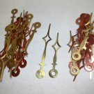 25 Pairs New Diamond Shaped Brass Spaded Clock Hands (No25) For Scrapbooking, Steampunk