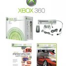 "Xbox 360 ""Premium Gold Pack"" Video Game System + 7 Great Games"