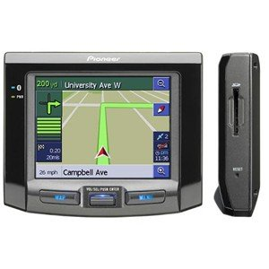 Pioneer portable navigation System