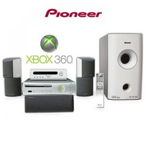 Pioneer hts-gs1 600W 5.1 Surround Sound System For XBOX 360 - HTS-GS1