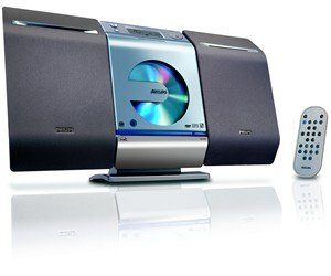 Philips MCM275 Micro Hi-Fi System w/ MP3 Playback, USB, Digital Tuner, 10 watts
