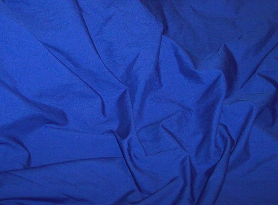 Blue Poly Cotton Broadcloth