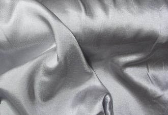Silver Silky Soft Charmeuse Satin