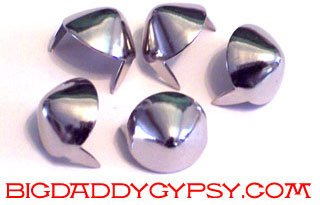 Cone Studs Half Inch 100 Count