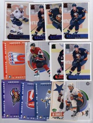 25 NHL Hockey Mixed Insert Card Lot, PACIFIC PARAMOUNT, Topps Glossys + MORE!