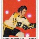 1970/1971 O-Pee-Chee NHL Hockey Card #136 Derek Sanderson NICE OPC