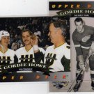92/93 Upperdeck Gordie Howe Hockey Heroes Inserts, #19 & 25 of 27