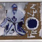 2007/2008 UD Frozen Artifacts Gold NHL Hockeys Andrew Raycroft Jersey #42/50