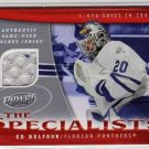 2006/2007 NHL Hockey Power Play - The Specialists Jersey Card Ed Belfour