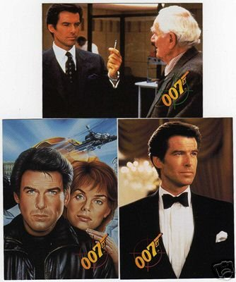 James Bond 007 - GOLDENEYE, 1995, Complete 90 Cards + 3 Inserts By Graffiti Inc