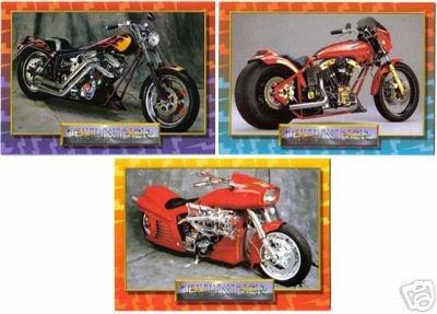 Harley Davidson +++ - Thunder Custom Bikes, 50 Card Complete Set, Hamsters USA, 1993 MT