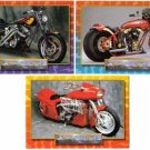 Harley Davidson +++ - Thunder Custom Bikes, 50 Card Complete Set, Hamsters USA, 1993 MT