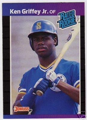 1989 - Ken Griffey, Jr., Donruss MLB Baseball Rookie Card #33