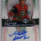 Mikko Koivu 2006/2007 Trilogy Ice Scripts NHL Hockey Insert Autograph Card #MK