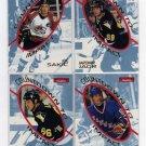 1996/1997 SkyBox NHL Hockey Inserts - Countdown To Impact w/ Wayne Gretzky, Mario Lemieux +