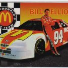 Bill Elliott, McDonalds NASCAR Racing Team 1996, Insert Card #MBE-1