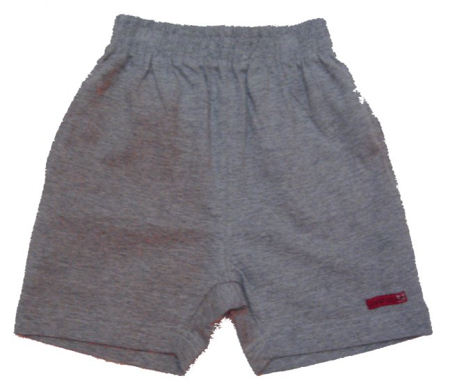 Grey Colour short pants (4-9years)  RM9.90