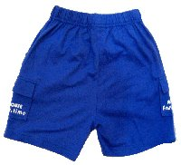 Light blue casual pants (4-10 yrs) : RM9.90