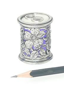 Pencil Sharpener with a Decorative case - something stylish for the Home Office