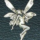 Silver plated Tinkerbell fairy brooch. Bring a little fantasy into your life