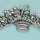 Art Nouveau style Basket design Brooch