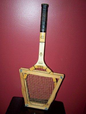 Vintage Signed Jack Kramer Wilson Tennis Racket
