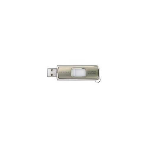SanDisk 4 GB 4GB Cruzer Titanium USB Flash Drive with U3