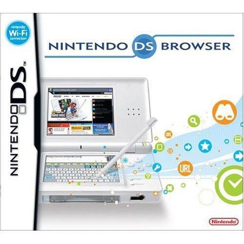 Nintendo DS Lite Opera Internet Browser