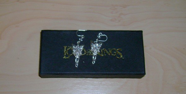 Official Lord of the Rings Evenstar Earrings