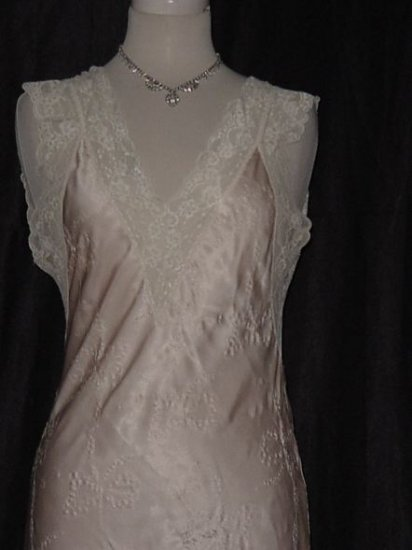 Givenchy Nightgown- Collection Sensual  Long Silky nylon night gown Soft, Sensual Bust 32 No. 22