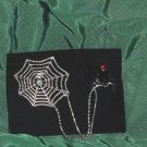 Spider & Web Avon Jewelry Double tac pin 2006  No. 117