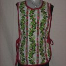 Christmas Apron Holly leaves, berries Pine sprig Sandwich Apron
