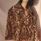 Lane Bryant Animal Print Jacket Size 24  No. 24