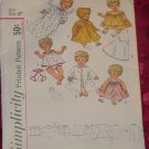 Simplicity doll clothes Patterns 4727 for Doll Size 18'  No. 32