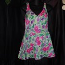Gabar womens Swimsuit Ladies floral swim suit size 16 ladies swim wear   39