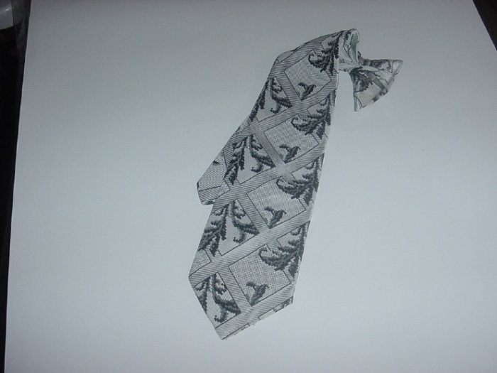 Mens Clip On Tie Snapper Vintage tie Sears Mens Store   40