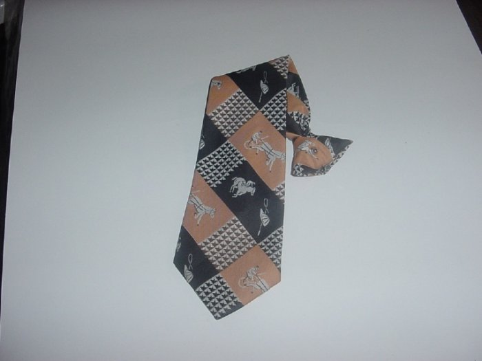Mens Necktie Snapper  Clip On neck tie  - 44