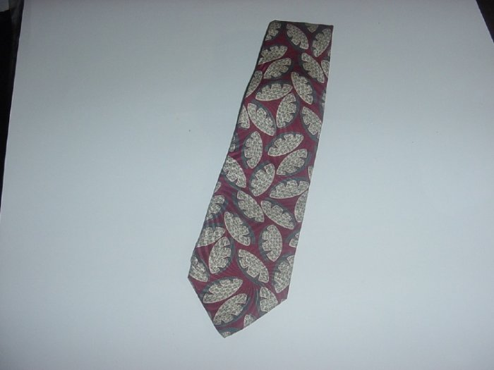 Mens Necktie Geoffrey Beene Tie Silk Abstract design   44